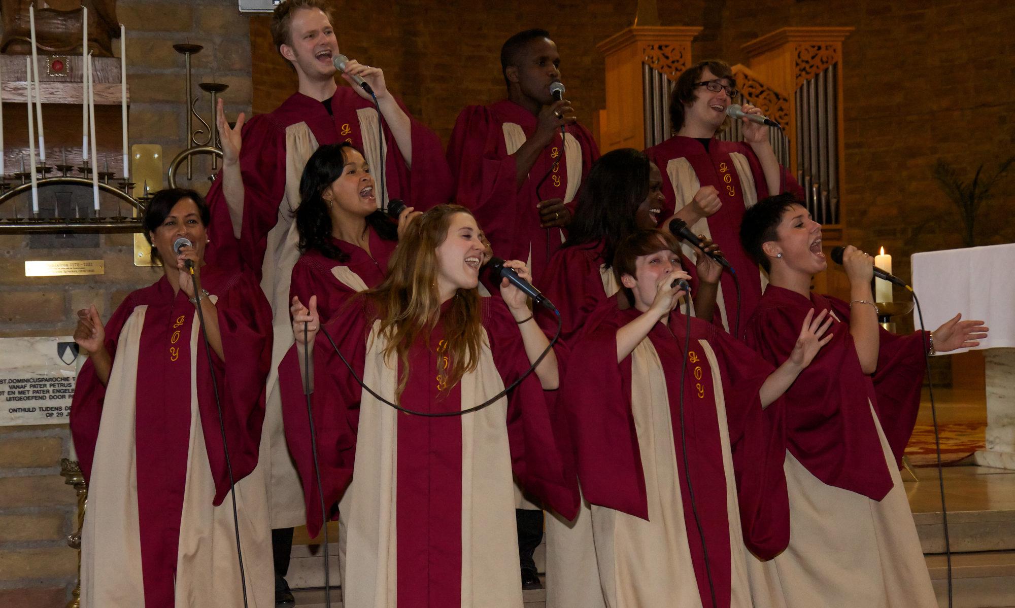 Gospelformatie JOY! | joygospel.nl